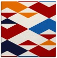 rug #1163311 | square red abstract rug