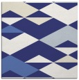 rug #1163351 | square white graphic rug