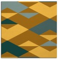 rug #1163383 | square light-orange graphic rug