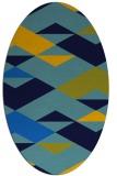 rug #1163458   oval graphic rug