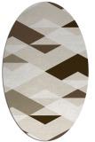 rug #1163586   oval abstract rug