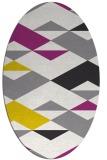 rug #1163611 | oval rug