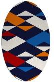 rug #1163682   oval abstract rug