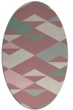 rug #1163780 | oval abstract rug