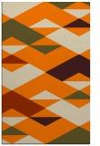 rug #1163791    orange retro rug