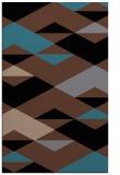 rug #1163807 |  brown graphic rug