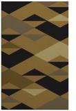 rug #1163811 |  mid-brown retro rug
