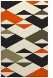 rug #1163815 |  black abstract rug