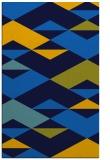 rug #1163823 |  blue abstract rug