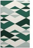 rug #1163923 |  green abstract rug