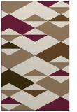 rug #1163947 |  mid-brown retro rug