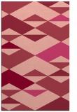 rug #1164023    pink abstract rug