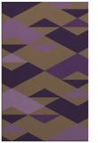 rug #1164039 |  mid-brown retro rug