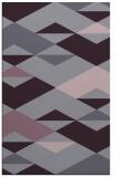 rug #1164043 |  purple abstract rug