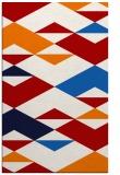 rug #1164047 |  red retro rug