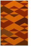 rug #1164063 |  red-orange retro rug
