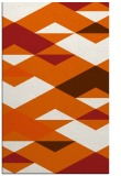 rug #1164075    red-orange graphic rug