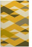 rug #1164107 |  yellow graphic rug