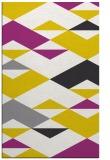 rug #1164115    yellow graphic rug