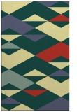 rug #1164123 |  yellow abstract rug