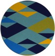 rug #1164194 | round graphic rug