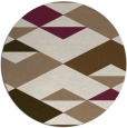 rug #1164315 | round mid-brown popular rug