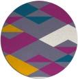 rug #1164327 | round retro rug
