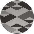 rug #1164379 | round orange retro rug