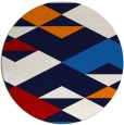 rug #1164418 | round abstract rug