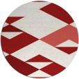 rug #1164423 | round retro rug