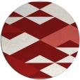 rug #1164426   round retro rug