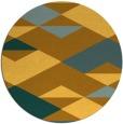 rug #1164487   round light-orange retro rug