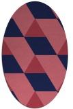 rug #1165358   oval abstract rug