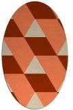 rug #1165479 | oval rug