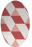 rug #1165500 | oval abstract rug