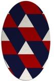 rug #1165521   oval abstract rug