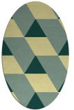 rug #1165597 | oval graphic rug