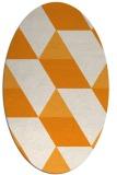 rug #1165625 | oval geometry rug
