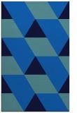 rug #1165663 |  blue abstract rug