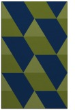 rug #1165675 |  green graphic rug