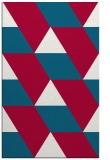 rug #1165747 |  red geometry rug
