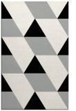 rug #1165775 |  black abstract rug