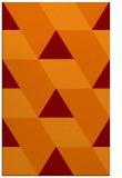 rug #1165839 |  red-orange retro rug