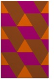 rug #1165911 |  red-orange graphic rug