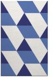 rug #1165927 |  white abstract rug