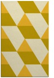 rug #1165947 |  yellow retro rug