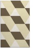 rug #1165951 |  white abstract rug