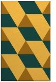 rug #1165959 |  yellow graphic rug