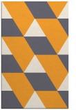 rug #1165995 |  light-orange abstract rug
