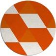 rug #1166285 | round retro rug